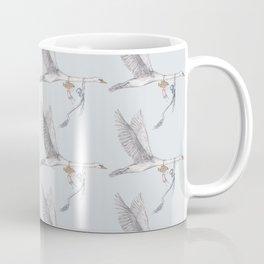 The Mute Swan (Pattern) Coffee Mug