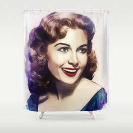 Rhonda Fleming, Hollywood Legend Shower Curtain