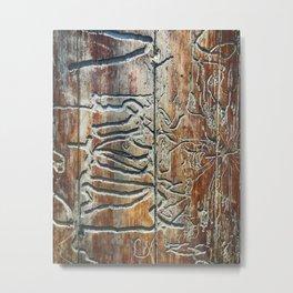 Nature Is A Beautiful Sculptor Metal Print