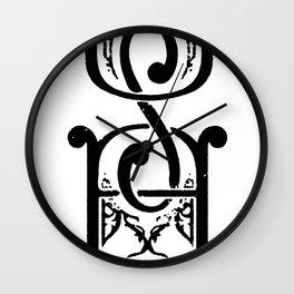 USA T-SHIRT Wall Clock