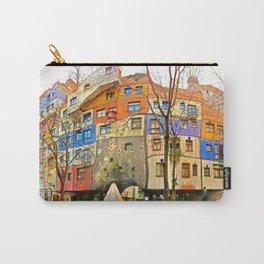 Vienna Hundertwasser  Carry-All Pouch