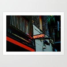 Back Alley Whiskey Art Print