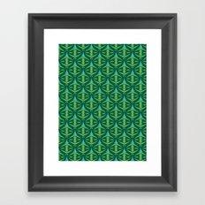 Forest Guardians Pattern Framed Art Print