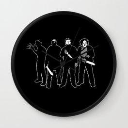 The Slashers! Wall Clock