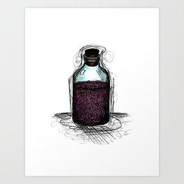 bottle 01 Art Print