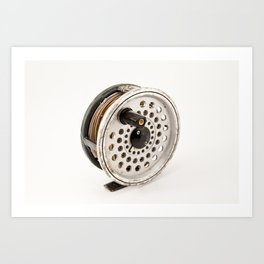 Fly Reel Art Print