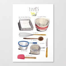 lamingtons part 3: tools Canvas Print