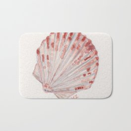 beach shell Bath Mat