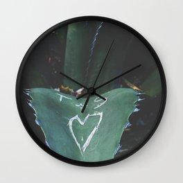 cactus love Wall Clock