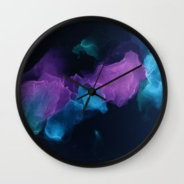candy at midnight Wall Clock