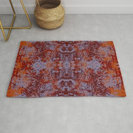 Colorful Abstract Decorative Boho Chic Style Mandala - Iloma Rug