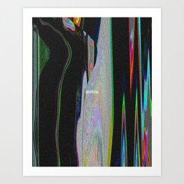 Glitch II Art Print