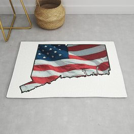 Patriotic Connecticut Rug