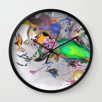 orca Wall Clocks featuring Orca by Archan Nair