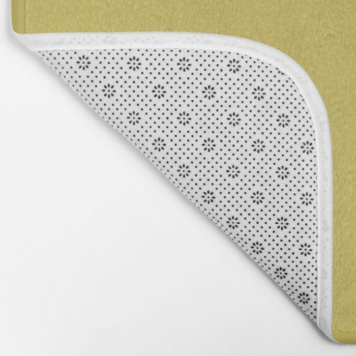Simply Mod Yellow Bath Mat