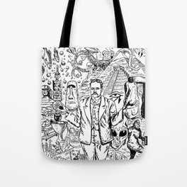 Charles Fort Tote Bag