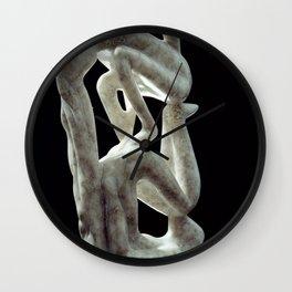 Amnon and Tamar by Shimon Drory Wall Clock
