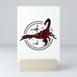 Red Scorpion 2 Mini Art Print