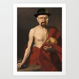 Saint Heisenberg Art Print