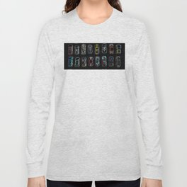 Neon Toy Cars Long Sleeve T-shirt