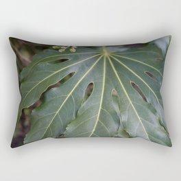 Big Leaf Rectangular Pillow