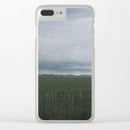 Care for our land Clear iPhone Case