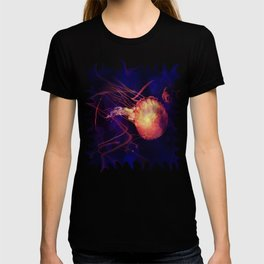 Jellyfish of the Blacklight Electro Rave T-shirt