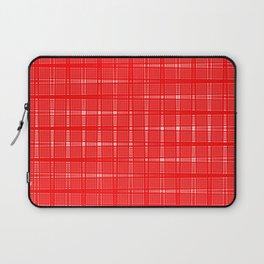 Aurora Red Pattern 1 Fall Winter 2016 Pantone Color Laptop Sleeve