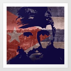 Heads of State: Fidel Castro Art Print