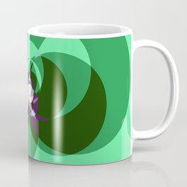 Tied in a Bow in Green Coffee Mug