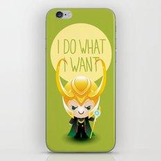 I Do What I Want - Loki iPhone & iPod Skin