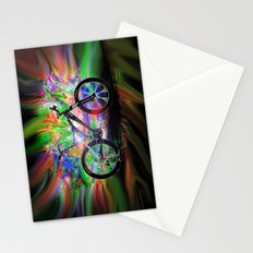 Psychedelic MT Bike Stationery Cards