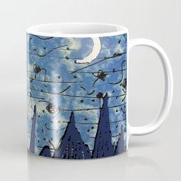 Sketched Drawing Fantasy Landscape Coffee Mug