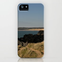 Towards Malltraeth Beach iPhone Case