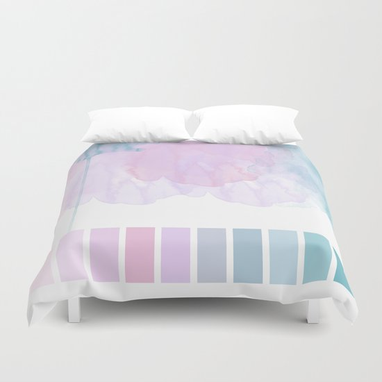 Aquarela Duvet Cover