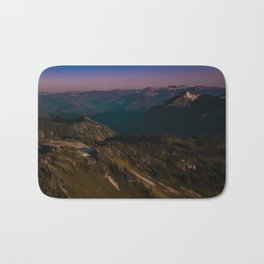 Pink pool of mountain chains Bath Mat