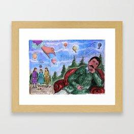 MONGOLFIERE Framed Art Print