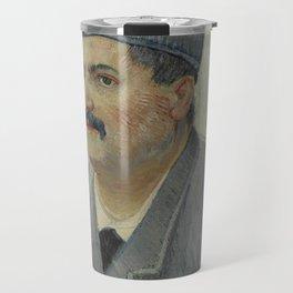 Portrait of Etienne-Lucien Martin Travel Mug