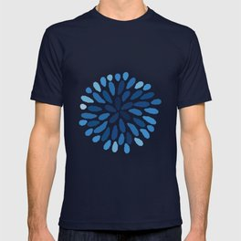 Indigo Flower T-shirt