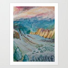Passage into Jotunheim Art Print