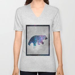 Galaxy Series (Bear) Unisex V-Neck