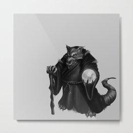 Rat Sorcerer Metal Print