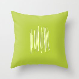 Wood - Minimal FS - by Friztin Throw Pillow