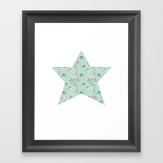 Empowering Star Framed Art Print
