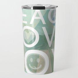 Peace Love Joy Travel Mug