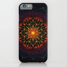 Mandala Shambala Spiritual Zen Bohemian Hippie Yoga Mantra Meditation iPhone Case
