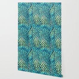 Mermaid Print Wallpaper