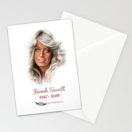 Farrah Fawcett  Stationery Cards