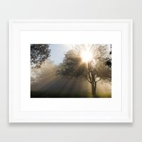 shining Framed Art Prints featuring Shining by Tom Gotzy