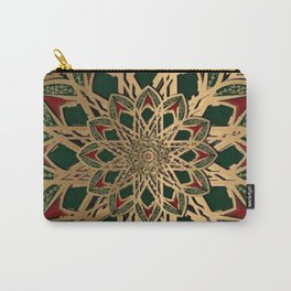 Royal Mandala Pattern Carry-All Pouch